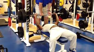 Holyfield Benching 300 Lbs. - YouTube