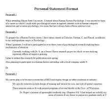10 catchy sles of personal statement