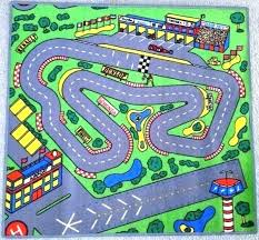 train track rug race big pink rugs melissa and doug race track rug
