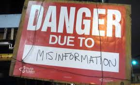 Image result for misinformation is very normal