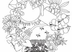 Download themes like animals, nature, patterns, and more. Garden Coloring Pages Printables Education Com