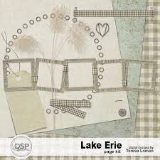 dl layouts lake erie page kit dl tl k lakeerie 3 99 digital scrapbook