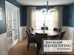 wainscoting dining room. How To Add Wainscoting A Room. Dining Room