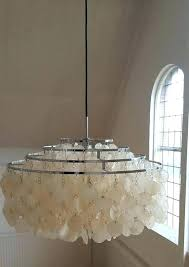mother of pearl chandelier mother of pearl lamp shade originally designed in and part of a