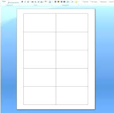 Business Card Size Template Photofactsinfo