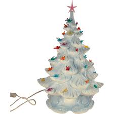 Top 40 Tabletop Christmas Tree Decoration Ideas  Christmas Miniature Christmas Tree With Lights