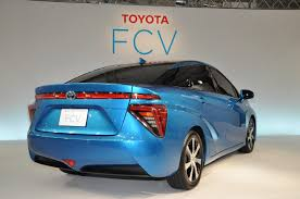 Toyota FCV fuel cell sedan to be called as Toyota Mirai