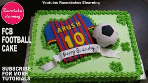 F C Barcelona Footballkids Birthday Cake Video Youtube