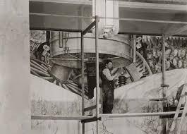 diego rivera murals rockefeller. Beautiful Murals Rivera Diego Working On Mural In Rockefeller Center 1933 And Murals M