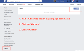 Canvas How To Use Facebook Canvas For Posts Or Ads Or Both Agorapulse