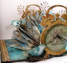 suzz s sting spot turning the pages altered book