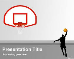 Basketball Powerpoint Template Free Basketball Powerpoint Templates