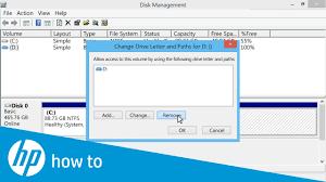 Hp Pcs Partitioning And Naming Drives Windows 10 8 Hp