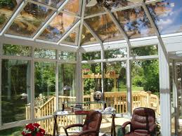 georgian conservatory aluminum glass roof design white with glass kick panels