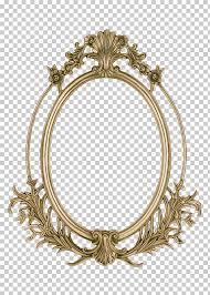 frame golden frame brass colored filigree frame png clipart