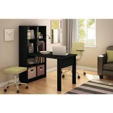 storage unit office. South Shore Annexe 2-in-1 Piece Pure Black Office Suite-7270C1 - The Home Depot Storage Unit L