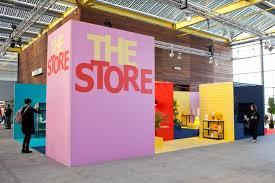 colourful exhibition stand design