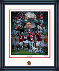 we are one of the largest dealers of daniel moore sports art in alabama little gallery also has the largest selection of framed university of alabama