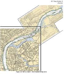 F00594 Nos Hydrographic Survey Delaware River New Jersey