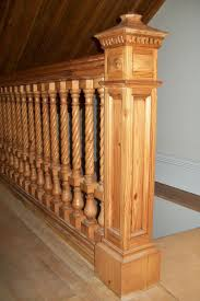 Custom Newel Post 24 Best Railingsspindles And Newel Posts For Stairs Images On