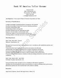 Banking Cover Letter New Resume Financial Institution Teller Obligations Resume Bank