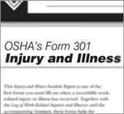 Oshas Form 301 Injury And Illness Incident Report