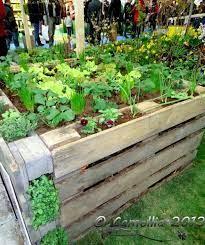 ideas pallets raised garden beds 14