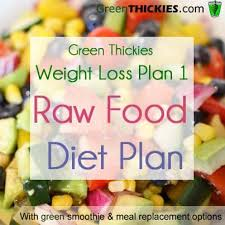 green thickies weight loss plan raw food t plan option 1