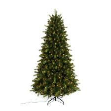 Christmas Tree With Changing Lights Home Accents Holiday 7 5 Ft Pre Lit Braxton Color Changing 8 Function Artificial Christmas Tree With 700 Micro Dot Led Lights