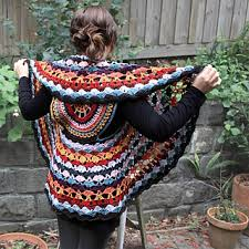 Crochet Circular Vest Pattern Free Inspiration 48 Amazing Free Circle Vest Crochet Patterns Simply Collectible