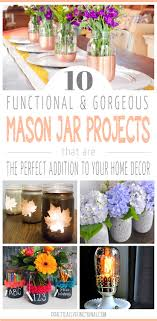 Mason Jar Projects 10 Cool Mason Jar Projects