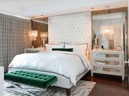 bedroom bench in emerald steals the show in this luxurious space design a s d interiors