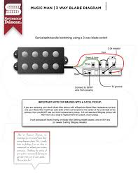 music man smb 5d 3 way blade wiring replacement mustang slide i want to replace 3 way switch blade at this diagram
