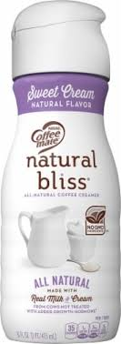 Coffee mate natural bliss sweet cream flavored all natural liquid coffee creamer adds naturally delicious goodness to every cup of coffee you pour. King Soopers Coffee Mate Natural Bliss Sweet Cream All Natural Liquid Coffee Creamer 16 Fl Oz