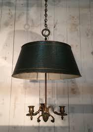 french bronze tole chandelier