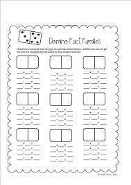 Domino Math Worksheets First Grade Subtraction Coloring Worksheet