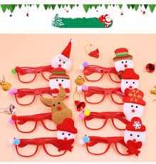 Christmas Photo Frames For Kids China Funny Party Toy Ornaments Glasses Frames Evening Kids