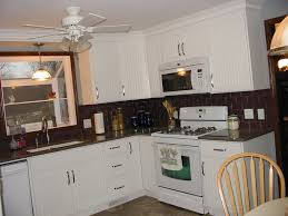 Wainscoting Kitchen Backsplash Kitchen Backsplash Ideas With White Cabinets And Dark