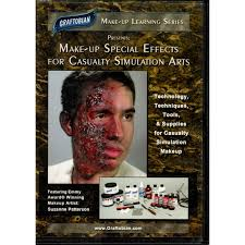 makeup special effects for calty simulation dvd