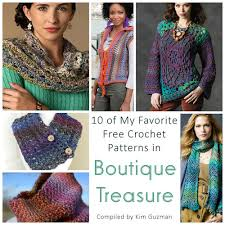 Redheart Free Crochet Patterns Simple Link Blast 48 Free Crochet Patterns In Boutique Treasure CrochetKim™