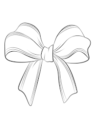 Small Picture Christmas Bow coloring page Free Printable Coloring Pages