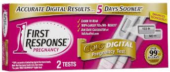 First Response Pregnancy Accuracy Chart First Response Gold Digital Pregnancy Test Early Result Kit