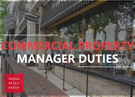 Buiding Manager Commercial Property Manager Duties Capital Retail