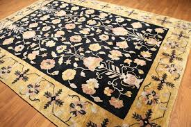 8 3 x11 6 black gold multi color tibetan persian oriental rug traditional area rugs by oriental rug of houston