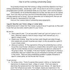 Nursing Essay Examples For Scholarship Scholarship Example