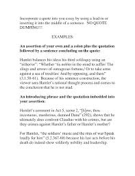 How To Write A Quote Stunning How Do You Write A Quote In An Essay To Put Style Examples Of Quotes