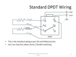 wiring schematics in parallel wiring diagram \u2022 Stereo Speaker Wiring Diagram series parallel wiring diagram for 4 conductor humbucker pickups rh slideshare net parallel speaker wiring speaker