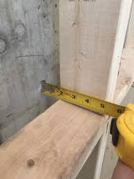 leave at least 1 of air space between foundation walls and framing to prevent the formation of thermal bridges