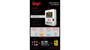 Vengo Vending Machine Delectable New York Hotel Adds Touchscreen Cashless Vending Machines