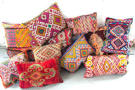 moroccan throw pillows. Moroccan Throw Pillows Style Navy Blue